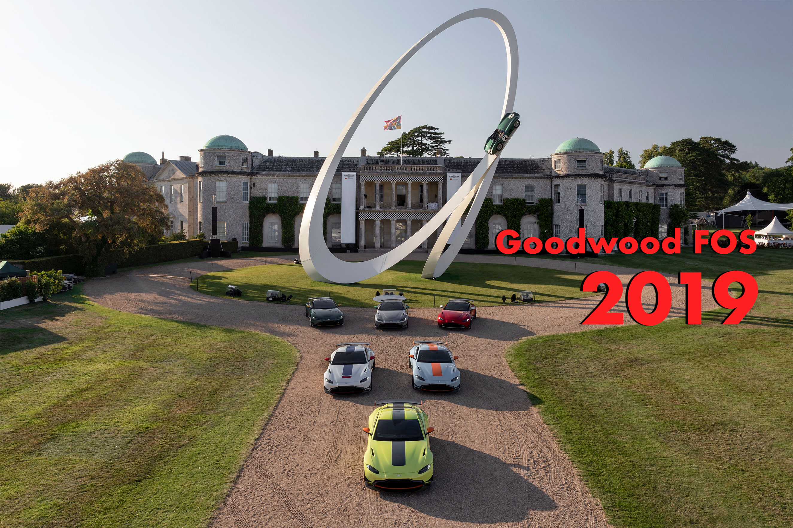 Aston Martin featured at 2019 Goodwood Festival of Speed