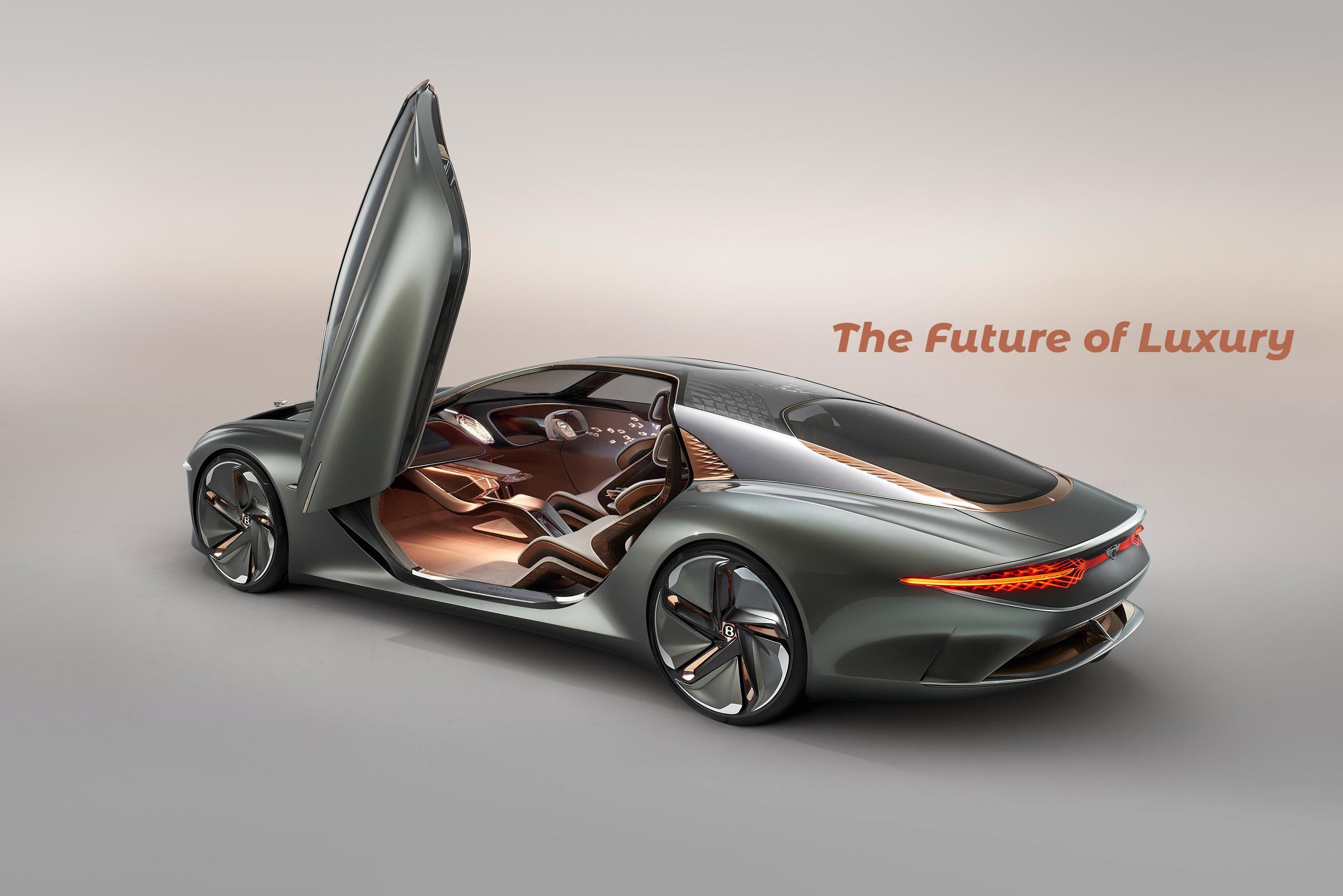 Bentley Announces Fully Electric Autonomous Grand Tourer - EXP 100 GT