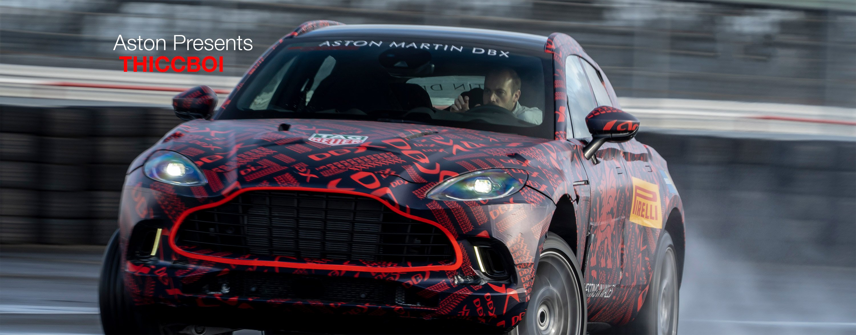 Aston Martin DBX nears full reveal
