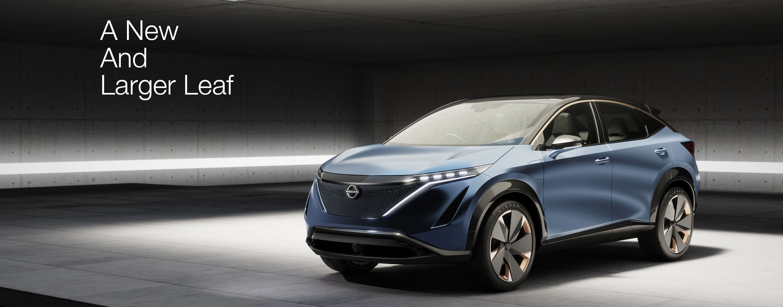 Nissan announces new EV SUV called Ariya