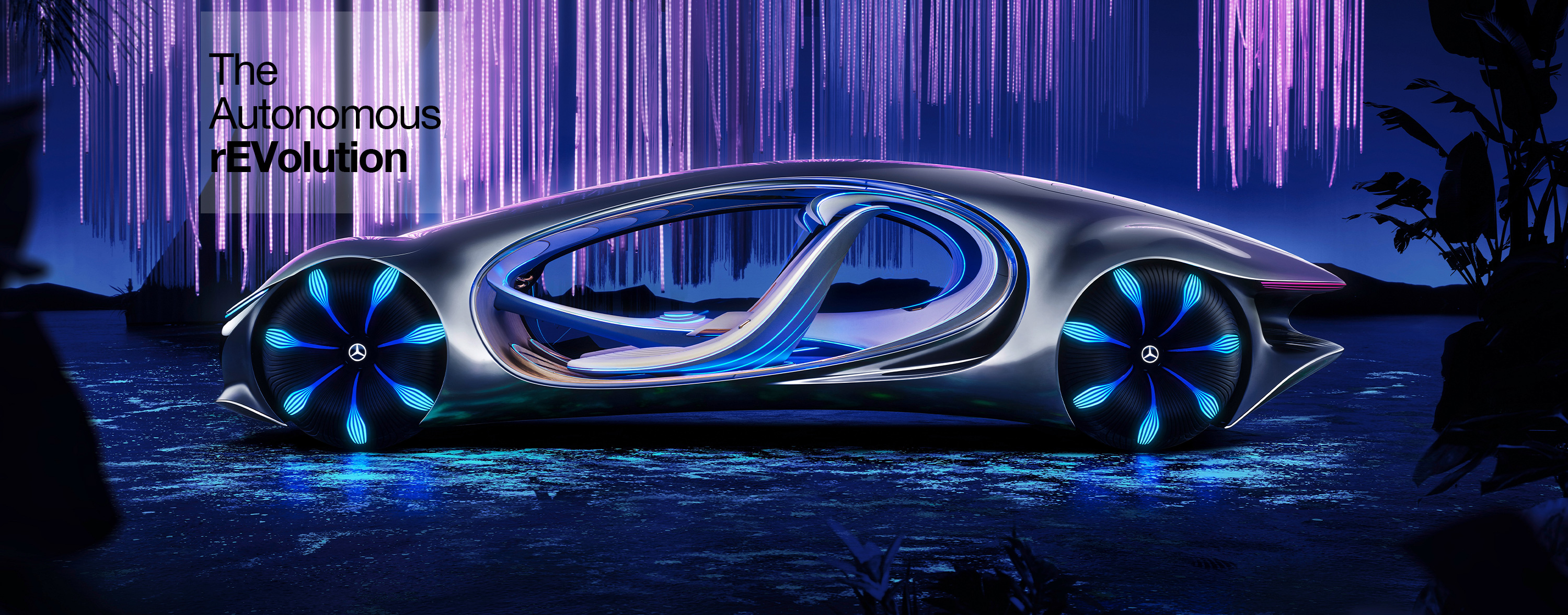 Mercedes Blends Tech And Nature At CES 2020