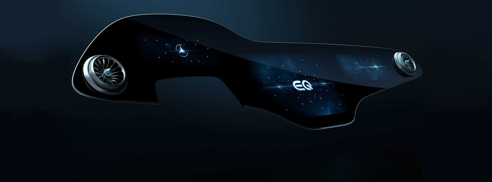 Mercedes-Benz Presents MBUX Hyperscreen to EQS