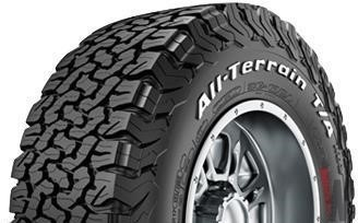 Bf Goodrich K02 >> Bfgoodrich All Terrain Ta Ko2 Tires