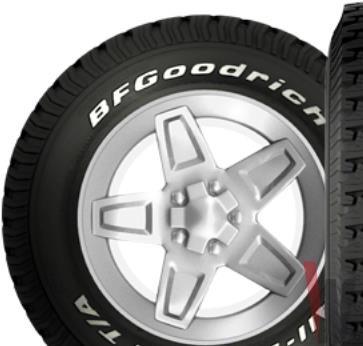 bfgoodrich all terrain t a ko ho tires. Black Bedroom Furniture Sets. Home Design Ideas