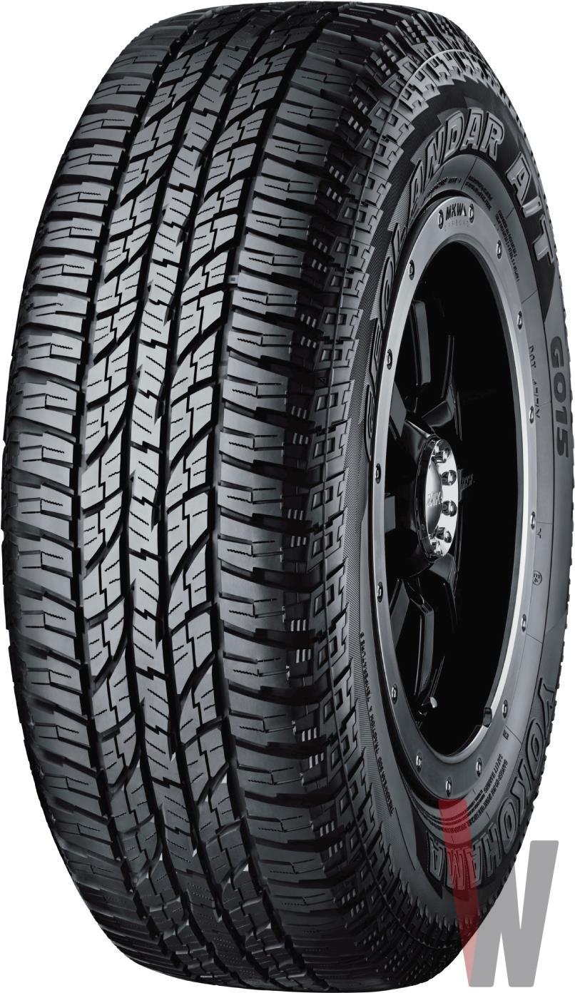 265 70r17 All Terrain Tires >> Yokohama Geolandar A/T G015 Tires