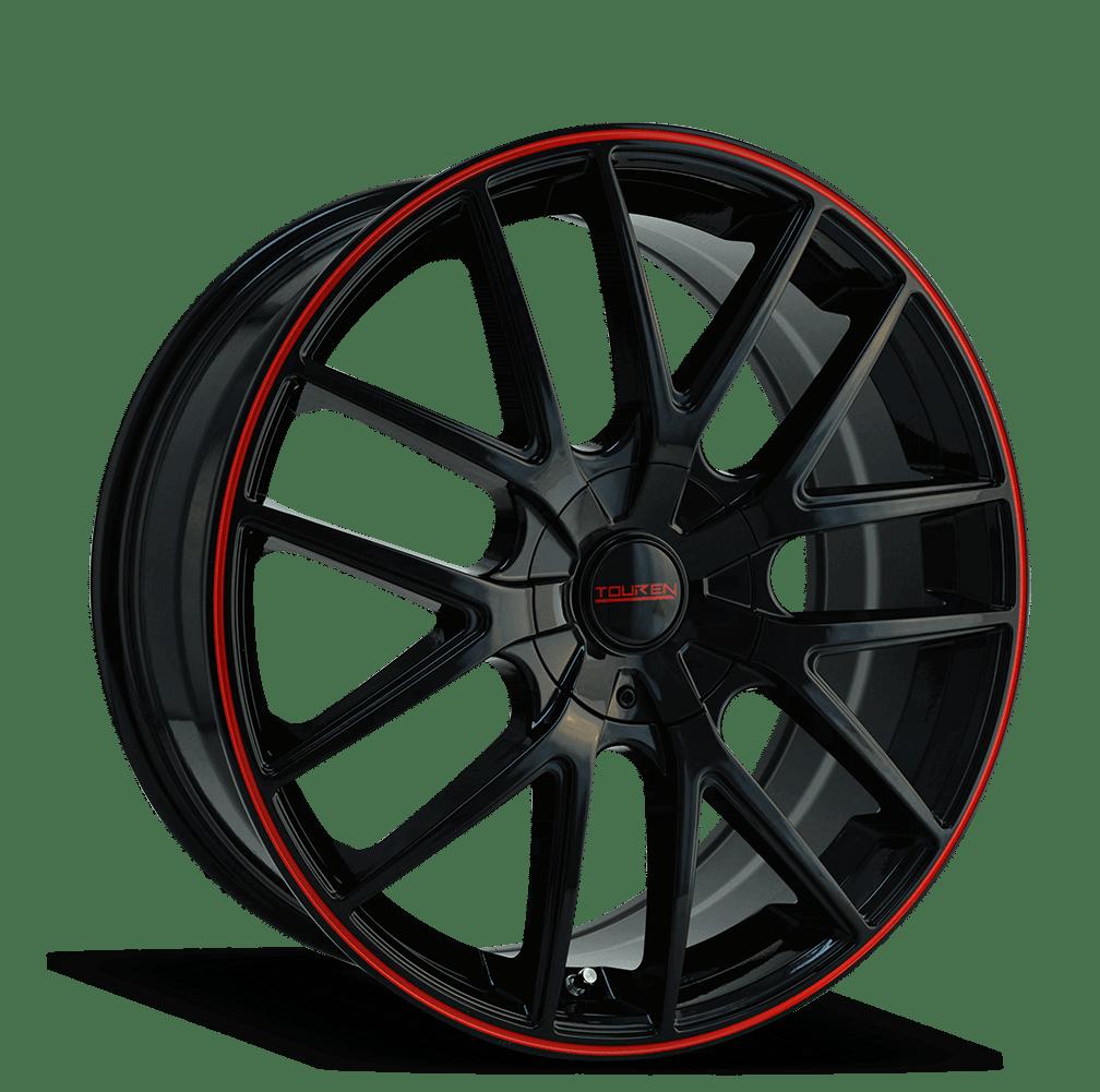 Touren TR60 BLACK/RED RING