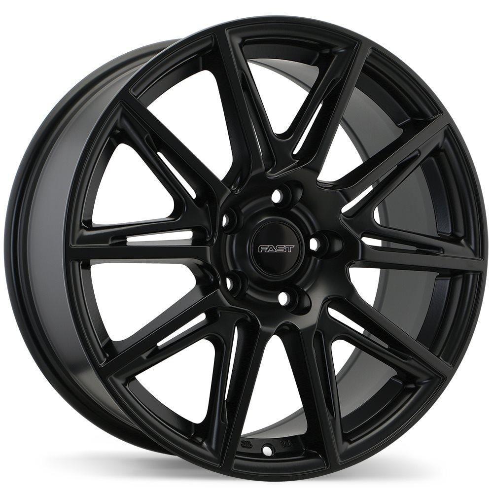 Fast Wheels Switch  Satin Black