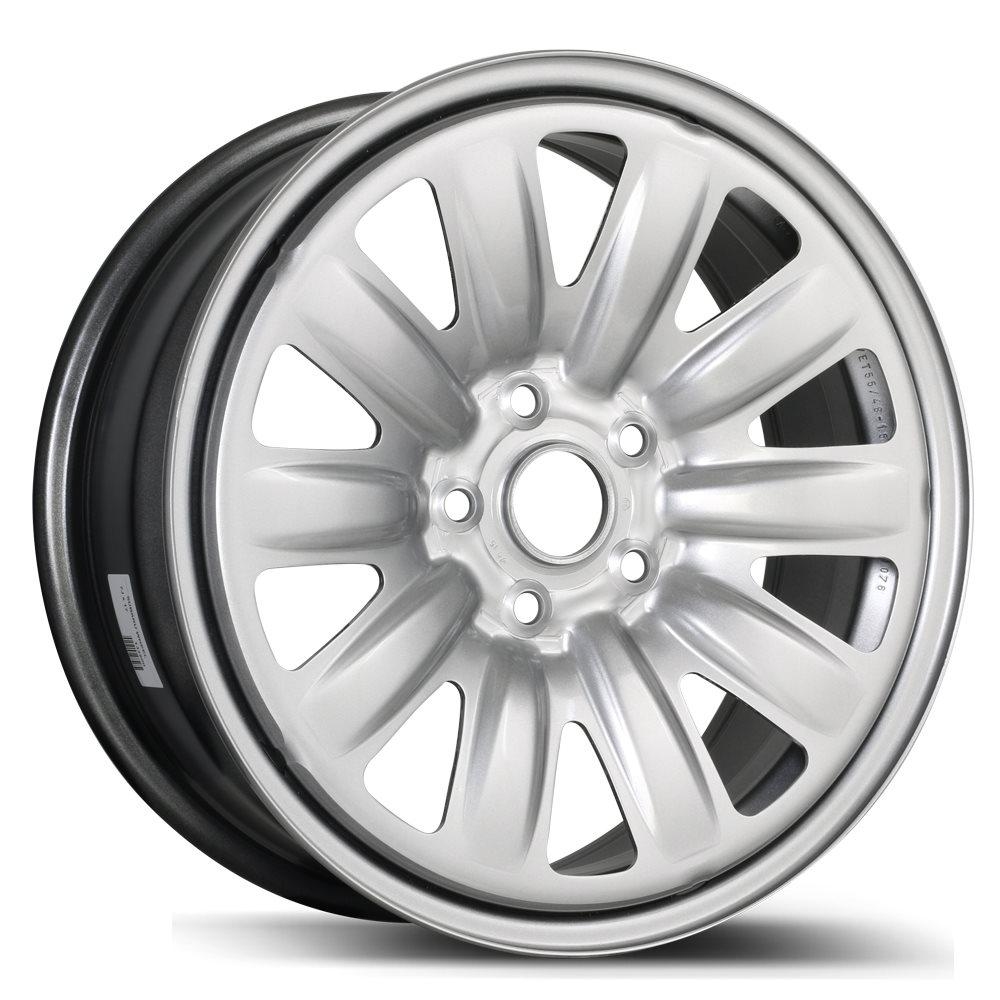 5X130 New Aftermarket Wheel Gray Finish 16X6 Steel Rim RTX 78.1 X46130 68