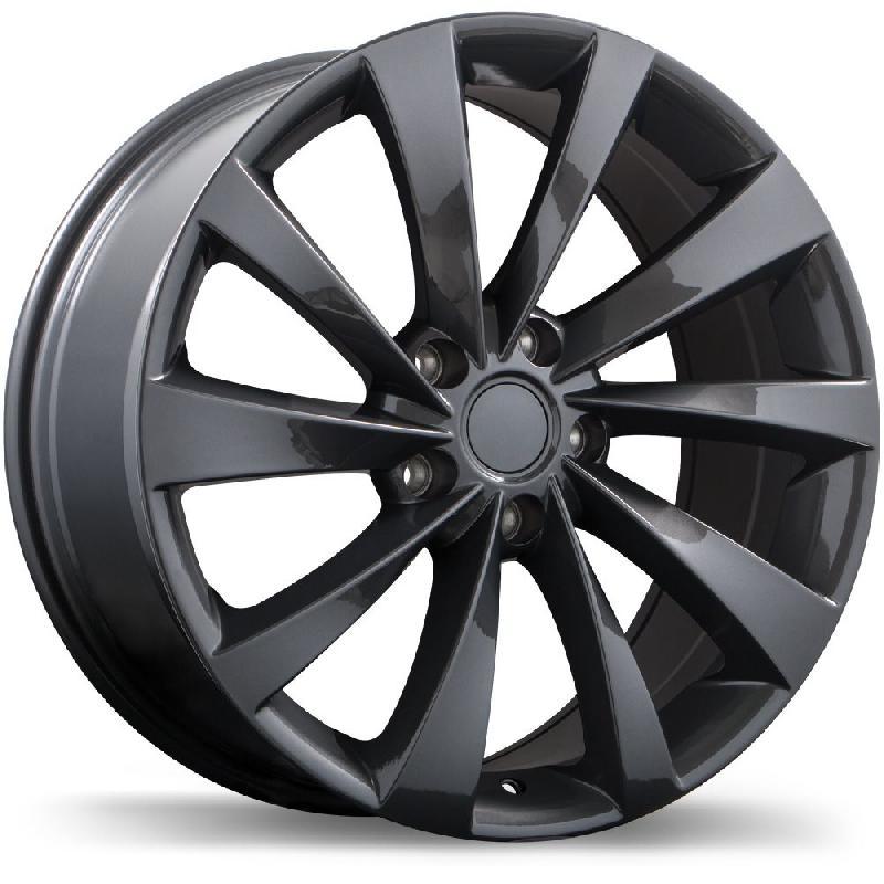 Replika R187 Gloss Gunmetal Tesla OEM Replica Wheel