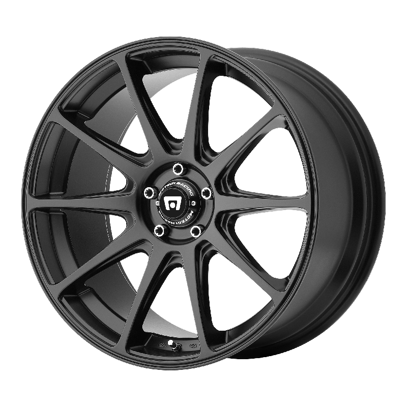 17 x 7.5 inches //5 x 72 mm, 40 mm Offset Motegi Racing MR141 Satin Black Wheel tpms